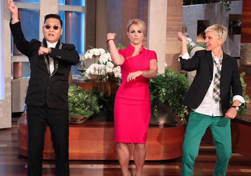 Britney Spears Gangnam Style Dance