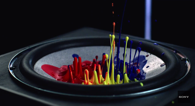 Cymatics tests the power of Sony's MHC-V7D speakers with the Kiesza hit — Hideaway