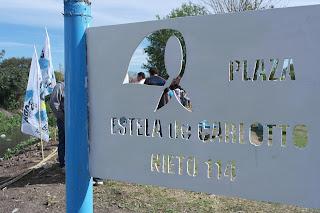 "Plaza ""Estela de Carloto"""