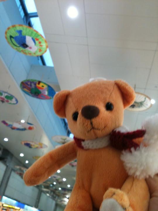 我在桃園機場!