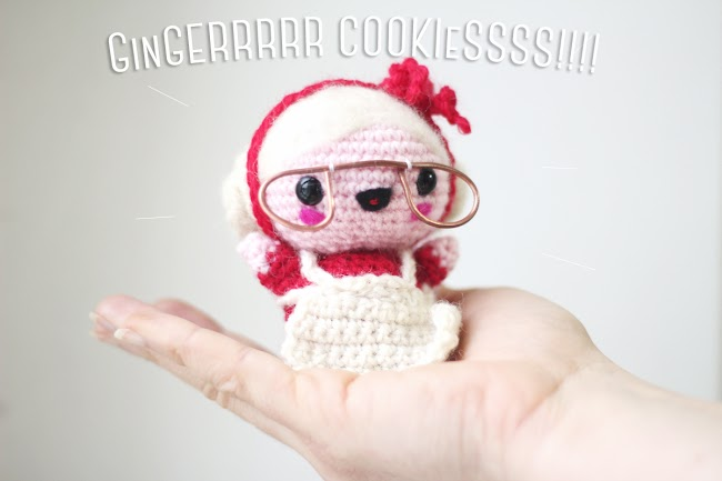 Amigurumi free pattern Mama Santa. The happy Companion of Santa Claus