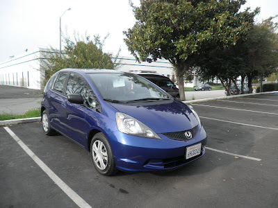Honda Fit after Almost Everything's autobody work