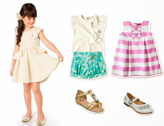 roupas de moda infantil