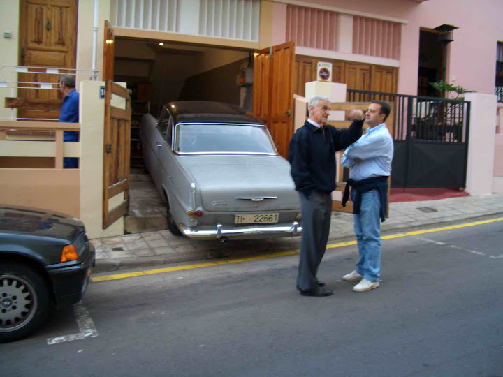 opel rokord p2 coupe restoration from canary island spain