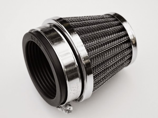 Luftfilter 50mm Powerfilter Tuning Sportluftfilter Chrome YAMAHA XJ 600 51J