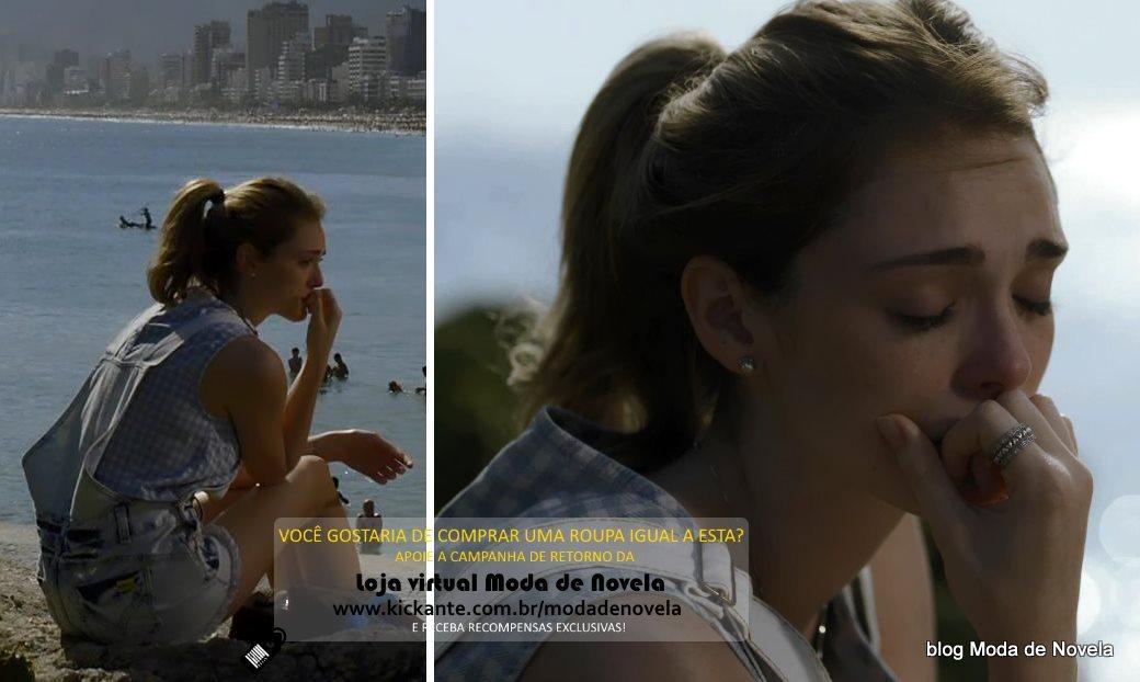moda da novela Sete Vidas, look da Julia dia 9 de março de 2015