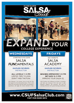 CSUF Salsa Club - Salsa FUNdamentals