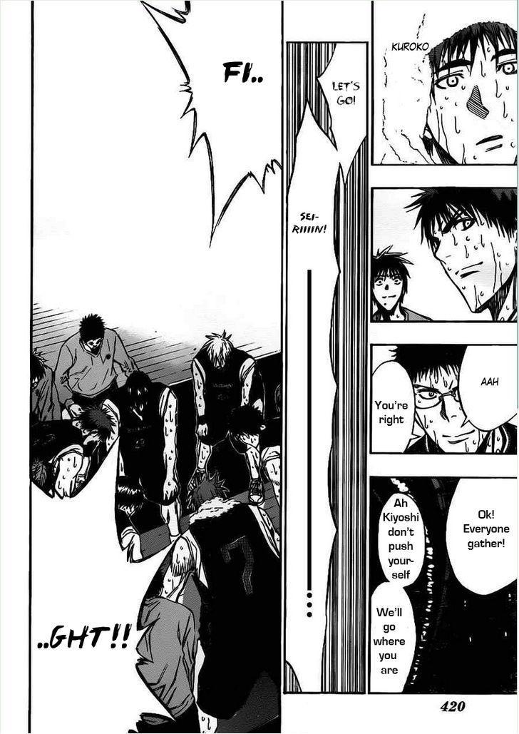 Kuroko no Basket Manga Chapter 160 - Image 16