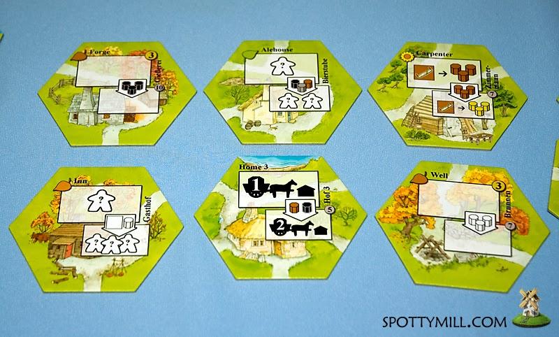 Keyflower boardgame настольная игра