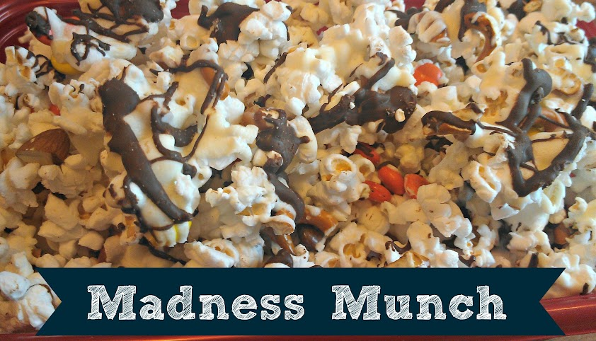Madness Munch Recipe for College Basketball Tournament Viewing Parties