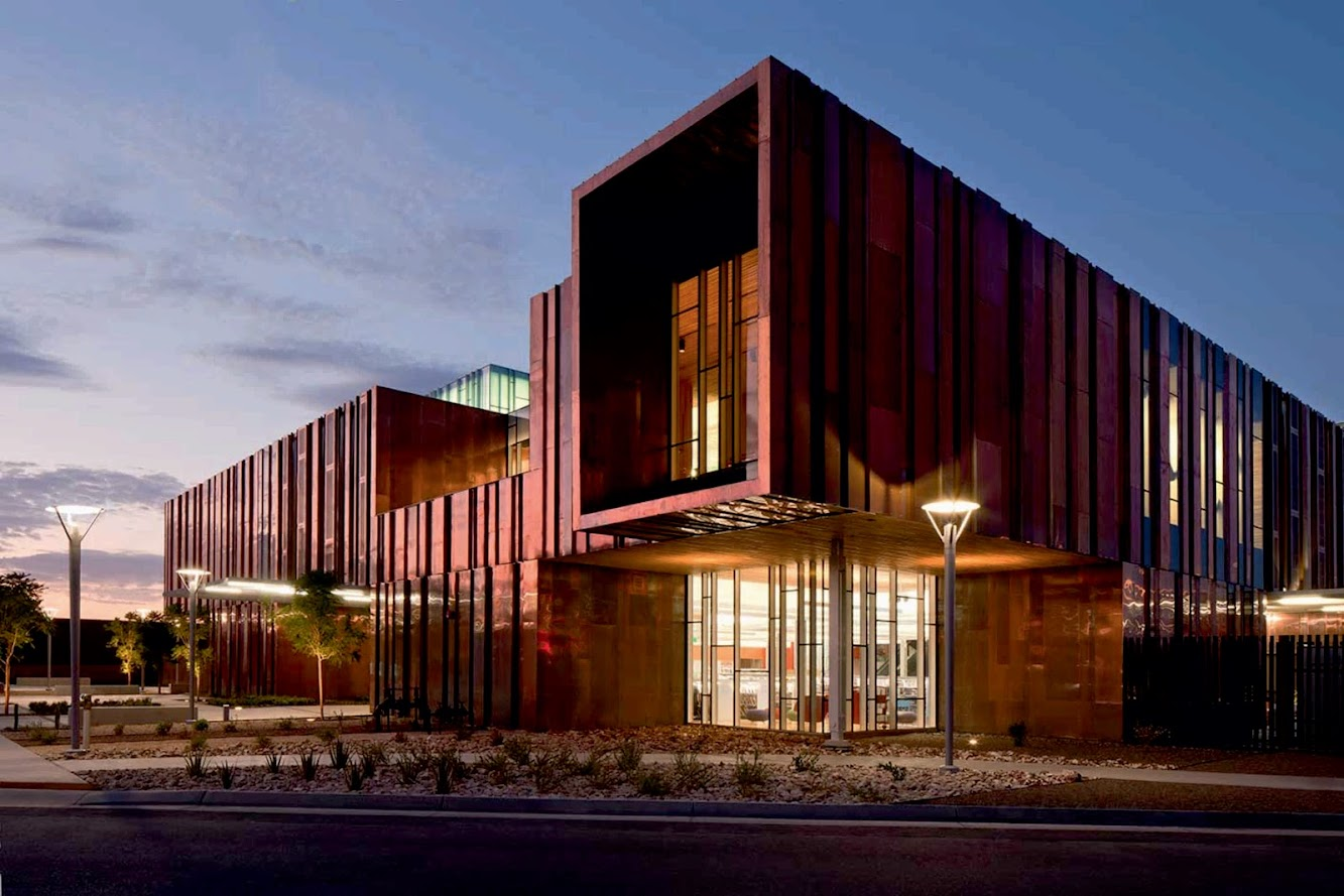 Phoenix, Arizona, Stati Uniti d'America: South Mountain Community Library by RichÄRD+BAUER
