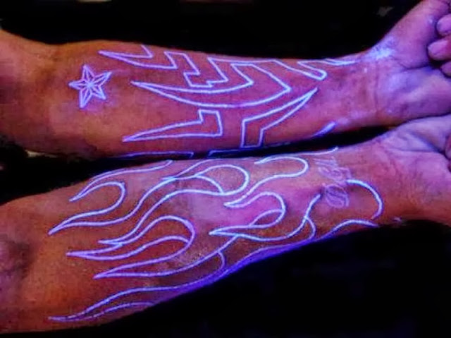 Glowing Tattoo