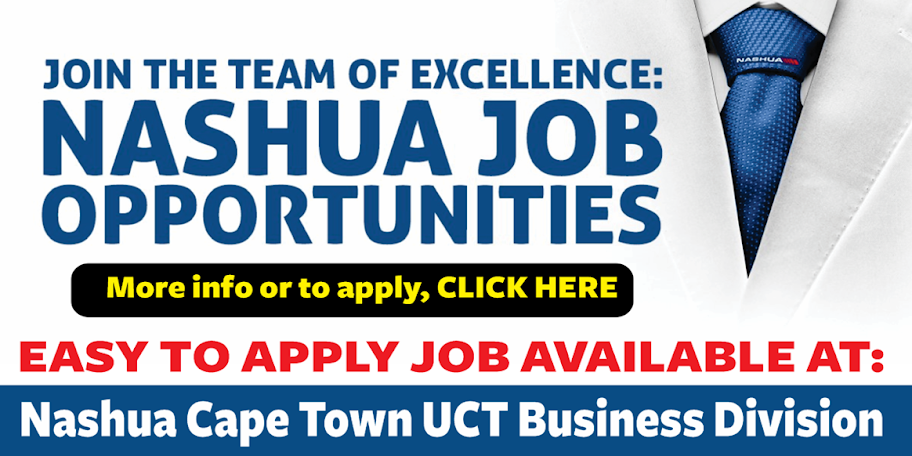 Nashua Cape Town Job