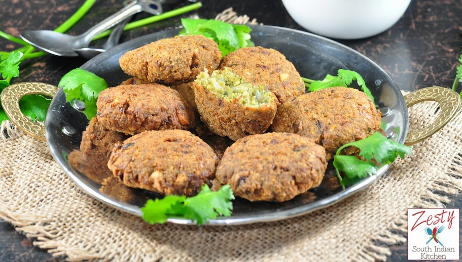Falafel middle eastern stret food made with chickpeas