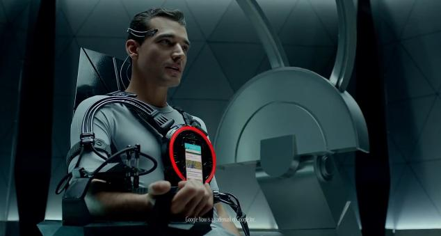 "Verizon Commercial HTC Droid DNA ""Hyper Intelligence"""