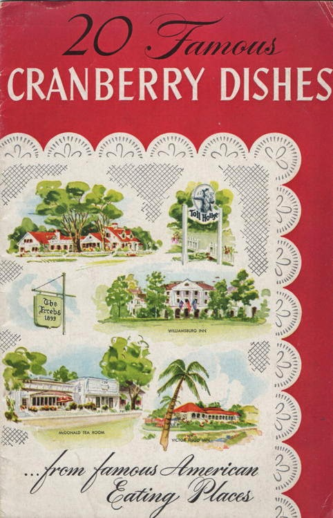 Famous Cranberry Dishes