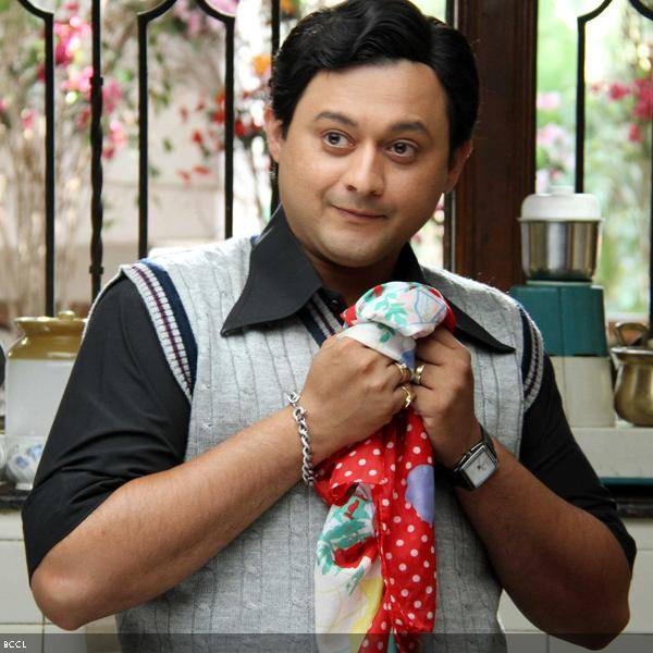 Swapnil Joshi in a still from the Marathi movie Duniyadari.