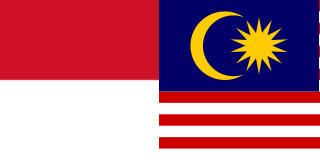 bendera indonesia malaysia