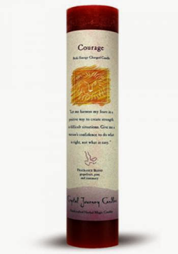 Courage Ritual Candle