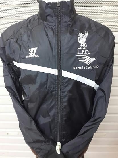 Jaket Parasut Training Liverpool Hitam Garuda Indonesia 2014-2015