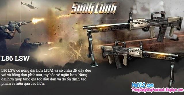 súng l86 lsw trong game đột kích, game cf