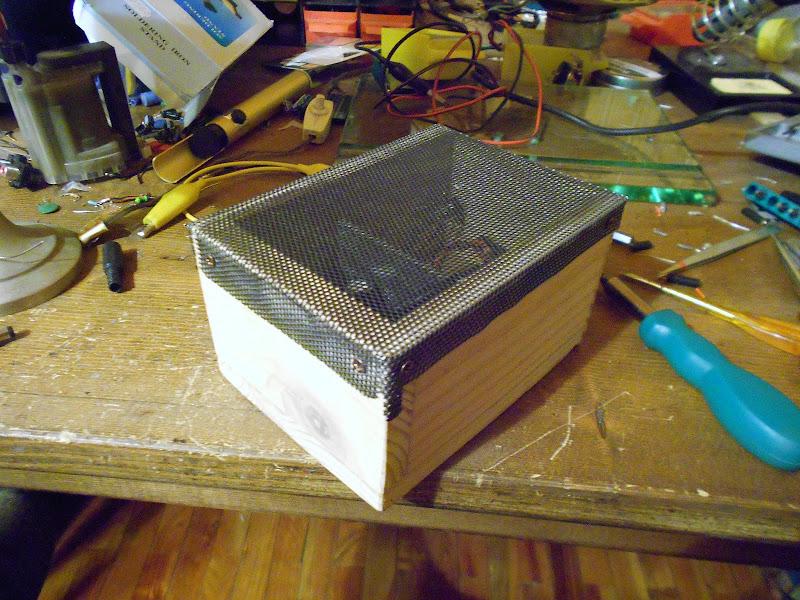 TA8207K Stereo,Costruzione. DSCN0637