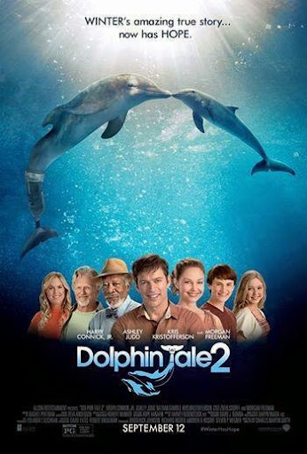 DolphinTale 2 movieposter Dolphin Tale 2: Winter Has Hope   Review and Interview with the Cast