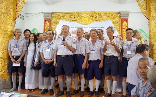 Nguyên Ban Hướng Dẫn T.Ư GĐPTVN NK.2008-2012 tuyên bố mãn nhiệm kỳ