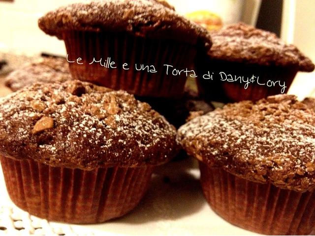 muffin sofficissimi al cioccolato - con e senza bimby