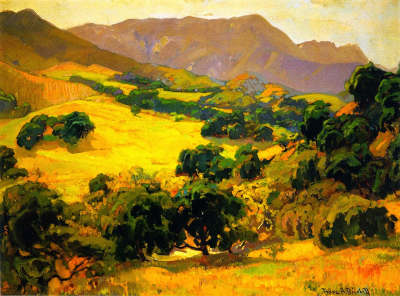 Franz Bischoff - California Oaks