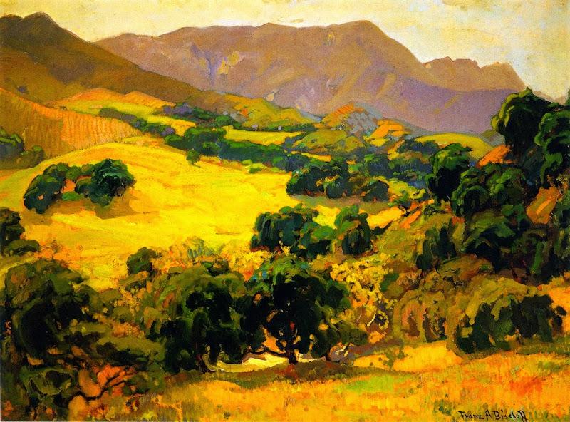 Franz Bischoff - California Oaks