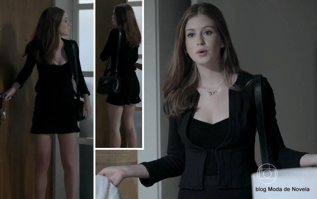 moda da novela Império, look da Maria Isis dia 1º de dezembro de 2014