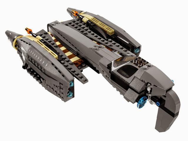 8095 レゴ グリーバス将軍のスターファイター