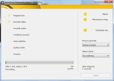 Convert File Video ke Format DVD Menggunakan DVD Flick