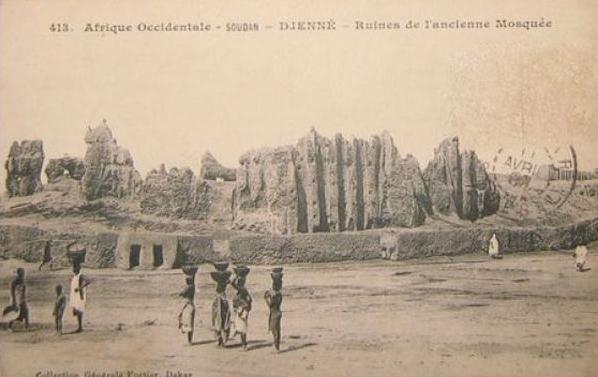 Самая большая мечеть из глины