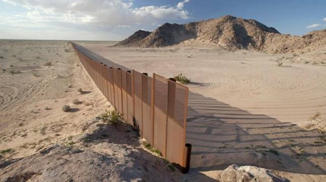Border Between Maxico and USA