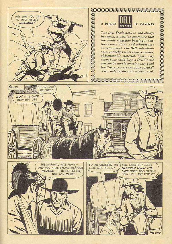 Gunsmoke Comics - The Buffalo Hunter - Gunsmoke Radio