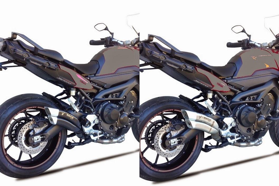 Z7 IXRACE inox ou black pour MT-09 Tracer ! Tracer-Chisum