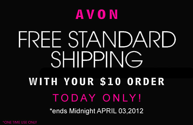 Avon Free Shipping Today! Click to Start Shopping