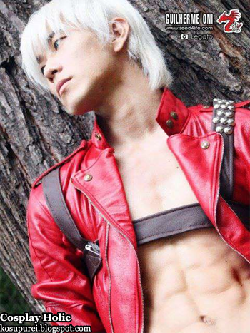 devil may cry cosplay - dante
