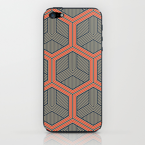Hexagon iPhone and iPod case on Society6