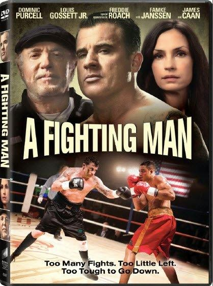 Poster Of English Movie A Fighting Man (2014) Free Download Full New Hollywood Movie Watch Online At Alldownloads4u.Com