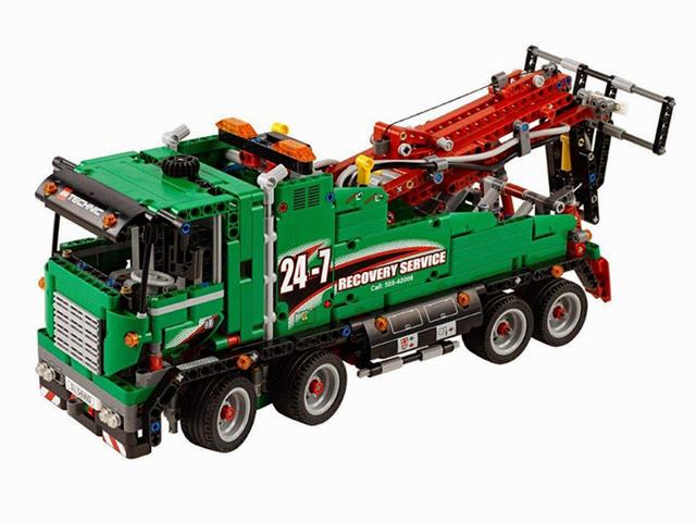 42008 レゴ サービストラック(テクニック)
