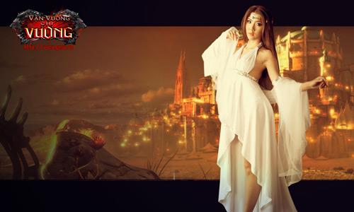 Ngọc Quyên biến thành nữ thần Vạn Vương Chi Vương 4