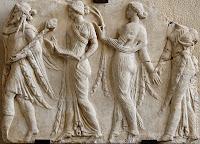 Θεές Ώρες ακολουθούν τον Θεό Ερμή,Ώρες,Goddesses Hours follow God Hermes, Hours