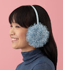 Earmuffs, another fun use of Glitter Eyelash yarn: http://marthastewart.lionbrand.com/patterns/L10178.html