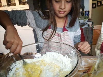cooking healthy with kids