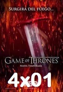Juego de Tronos Temporada 4×01 Online