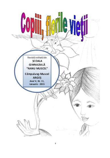 ed5 (ELECTRONIC - revistă scolara) copiii, florile vietii_ŞCOALA GIMNAZIALĂ_NANU MUSCEL_CAMPULUNG_ARGES