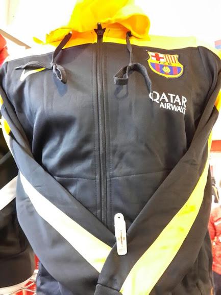 Jaket Barca Grade Ori Terbaru Topi Kuning